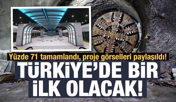 Türkiye'de bir ilk olacak! Yüzde 71'i tamamlandı