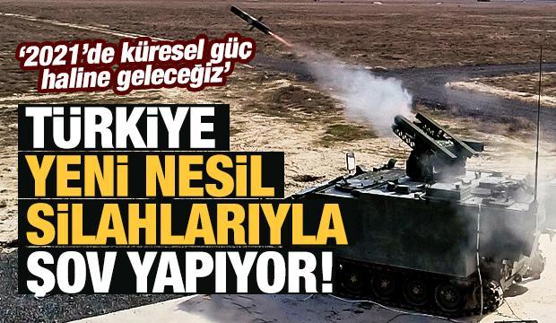 Türkiye'nin 'amiral gemisi' ve yeni nesil silahları!