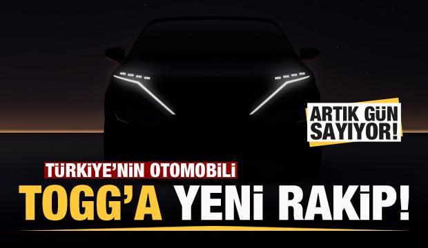 Türkiye'nin Otomobili TOGG'a yeni rakip! Artık gün sayıyor!