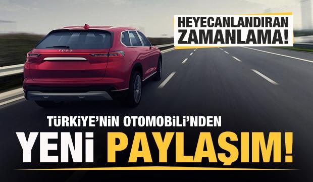 Türkiye'nin Otomobili'nden yeni paylaşım! Dikkat çeken detay!