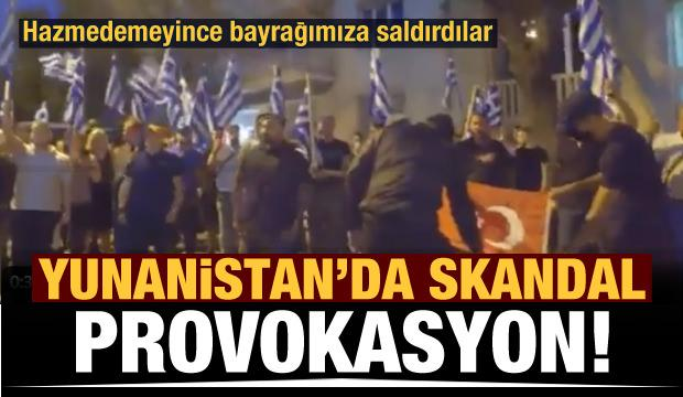 Yunan hazmedemedi! Skandal provokasyon