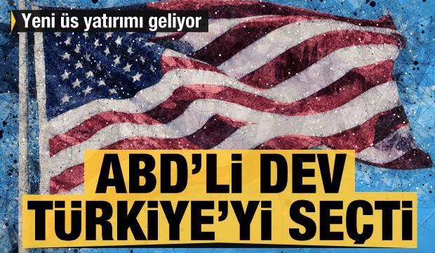 ABD'li dev Türkiye'yi seçti! Üs yatırımı geliyor