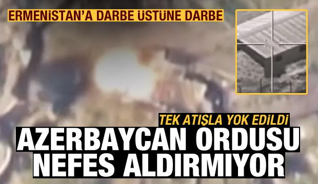 Azerbaycan, Ermenistan'a ait askeri üssü nokta atışıyla yok etti