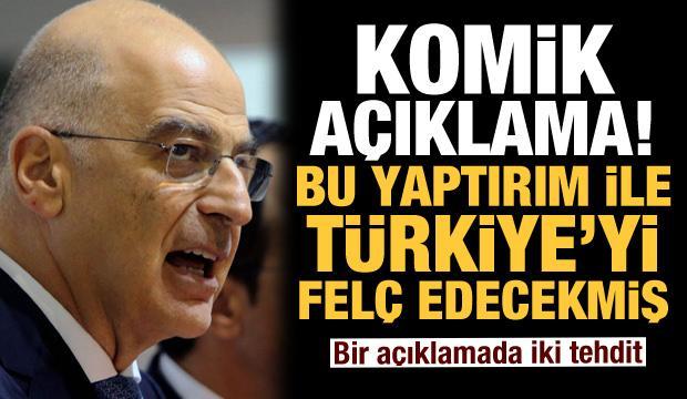 Bir açıklamada iki tehdit! Komik açıklama: Türkiye'yi 'felç edecek' yaptırımı istedi