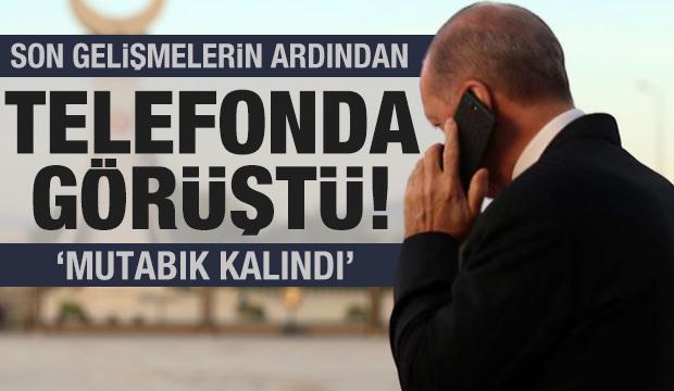 Erdoğan ve Putin telefonda görüştü! Libya krizi masada