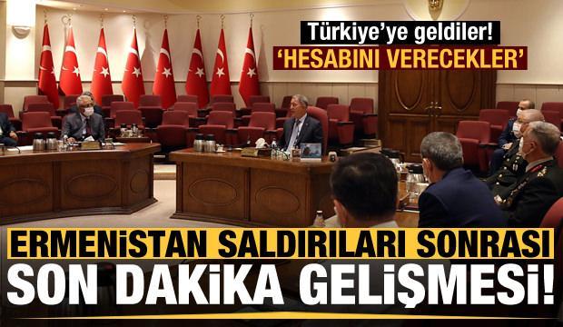 Ermenistan saldırıları sonrası son dakika gelişmesi! Türkiye'ye geldiler...