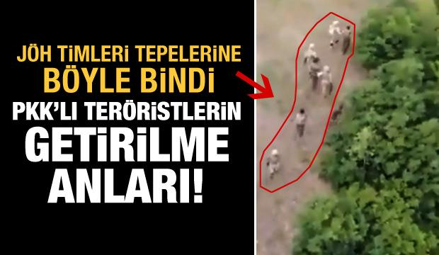 Görüntüleri yayınlanmıştı! Teröristlerin yakalanma anları ortaya çıktı