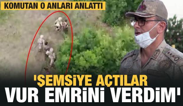Karadeniz'e sızmaya çalışan teröristleri durduran komutan konuştu!