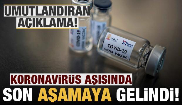 Koronavirüs aşısı son aşamaya hazır: 30 bin kişi üzerinde denenecek