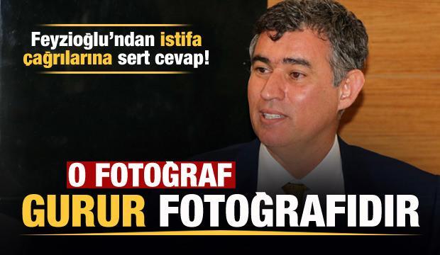 Metin Feyzioğlu'ndan istifa çağrılarına sert cevap: O fotoğraf gurur fotoğrafıdır