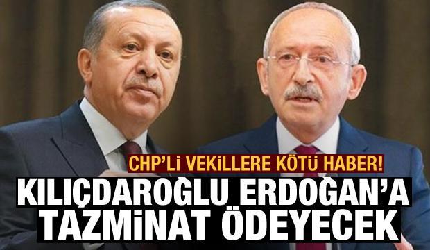 Son dakika: Kılıçdaroğlu, Erdoğan ve yakınlarına 197 bin TL tazminat ödeyecek