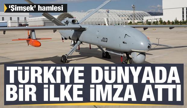 Türkiye 'Şimşek' ile dünyada bir ilke imza attı