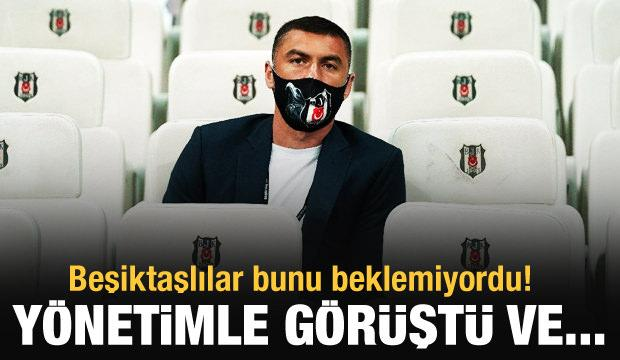 Burak Yılmaz, Beşiktaş'tan ayrılıyor!