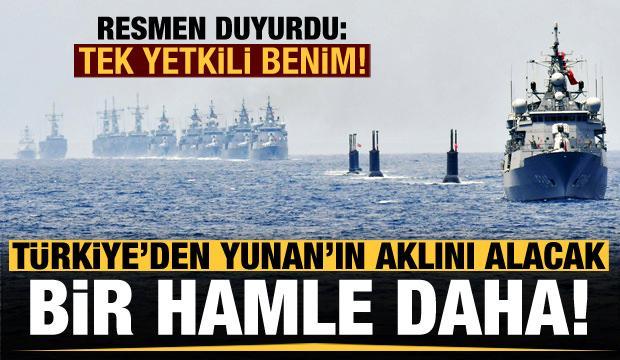 Türkiye'den akıl alacak bir hamle daha! Resmen duyurdu: Tek yetkili benim!
