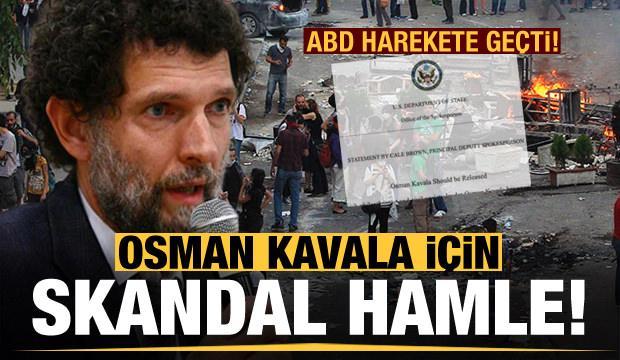 ABD harekete geçti! 'Kızıl Soros' Osman Kavala için skandal hamle