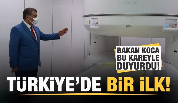 Bakan Koca duyurdu: Türkiye'de bir ilk...