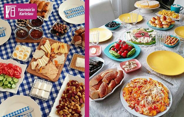 Bayram kahvaltısı sofralarına özel sunum önerileri
