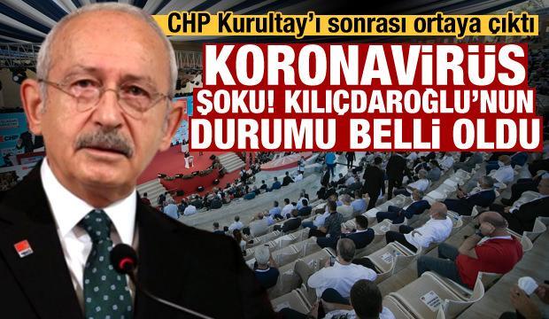 CHP'de 30 isim Kurultay'da koronavirüse yakalandı! Kılıçdaroğlu'nun son durumu belli oldu