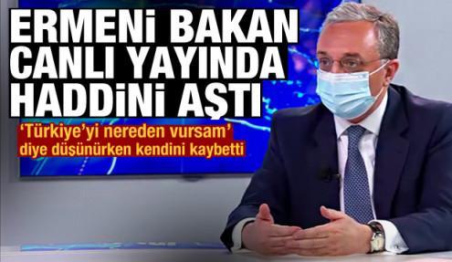 Ermeni Bakan haddini aştı: Türkiye, Doğu Akdeniz gibi Güney Kafkasya'yı da karıştırmak istiyor