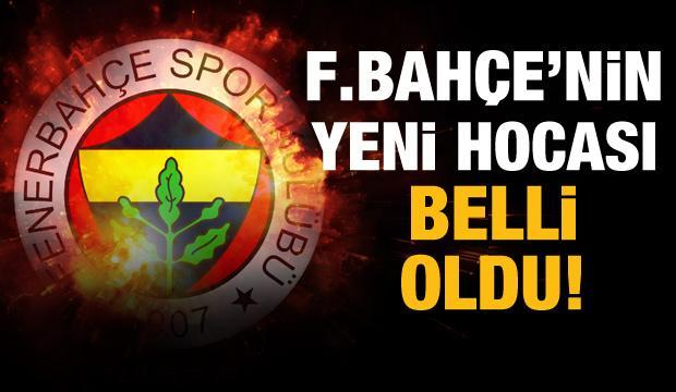 Fenerbahçe'nin yeni teknik direktörü belli oldu!