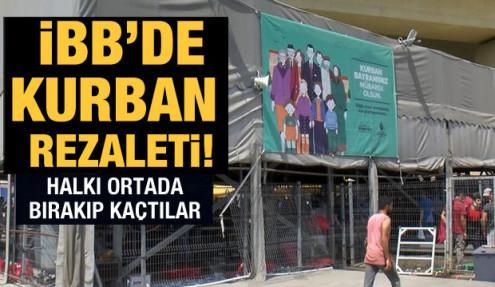 İstanbul'da sabah 4'te kurban tartışması: 'Kasaplar kaçtı' iddiası