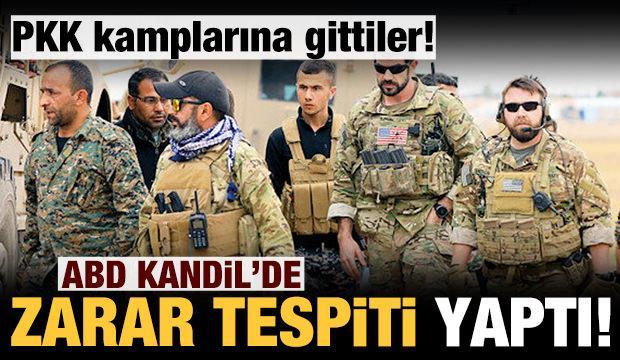 ABD Kandil'de yine PKK'nın yanında yer aldı!