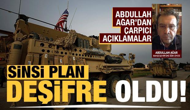 ABD ile YPG/PKK arasındaki korsan anlaşma ile ilgili Abdullah Ağar'dan çarpıcı açıklamalar