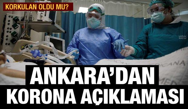 Ankara İl Sağlık Müdürlüğünden 'koronavirüs vakalarına' ilişkin açıklama