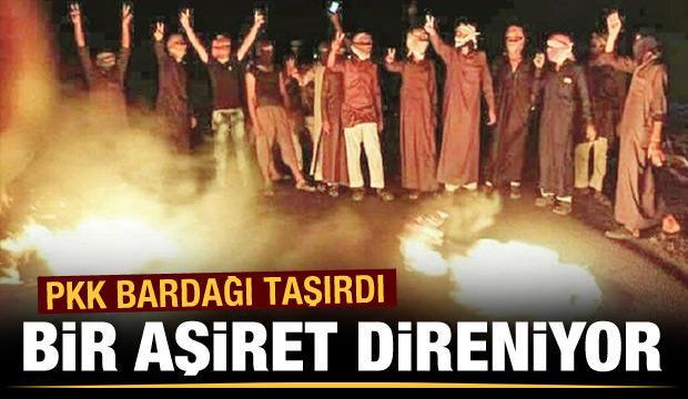 Bir aşiret PKK'ya direniyor