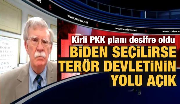 Bolton'dan PKK'ya mesaj: Biden gelirse...