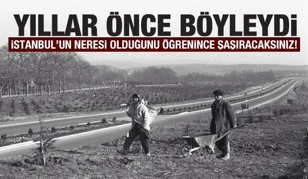 Bu kare İstanbul'da çekildi! Neresi olduğunu öğrenince şaşıracaksınız!