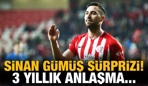 Büyük sürpriz! Sinan Gümüş Fenerbahçe'de