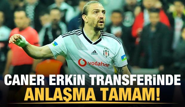 Fenerbahçe Caner Erkin ile anlaştı!