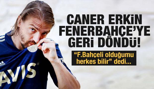 Fenerbahçe, Caner Erkin'i resmen açıkladı!