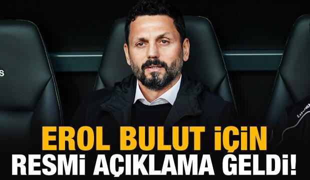 Fenerbahçe, Erol Bulut'u açıkladı!