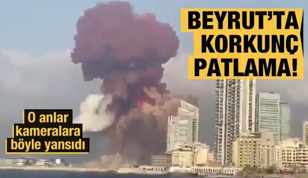 Lübnan'ın başkenti Beyrut'ta korkunç patlama!