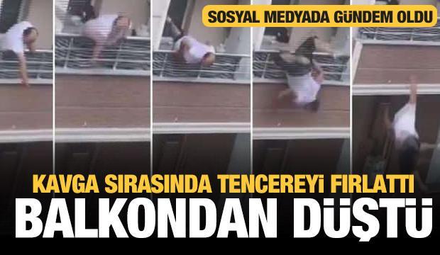 Sosyal medyanın gündemine oturan 'Balkon kavgasının' detayları ortaya çıktı