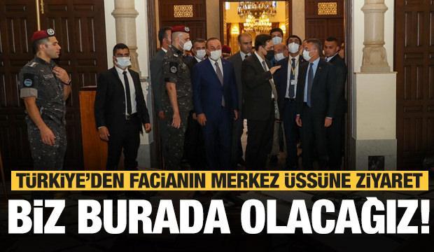 Türkiye facianın merkezinde! Tarihi ziyaret sonrası açıklama