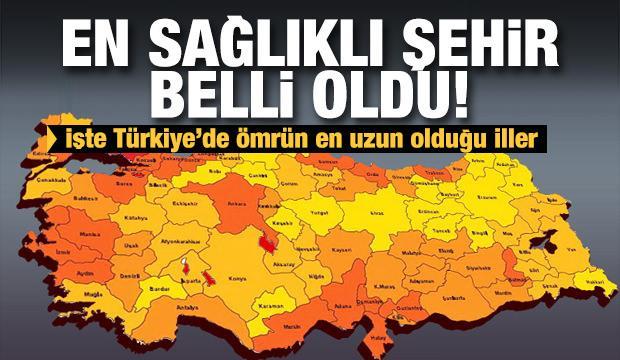 Türkiye'nin en uzun yaşayan şehirleri belli oldu! İşte rakamlar...