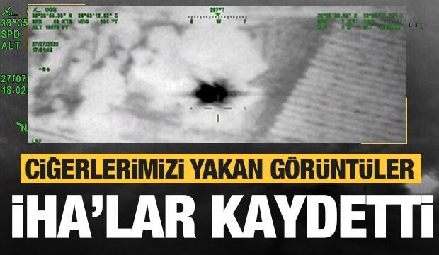 Türkiye'yi kavuran görüntüler! İHA'lar o anları kaydetti
