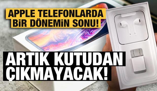 Yeni iPhone'larla beraber bir dönemin sonu geliyor!
