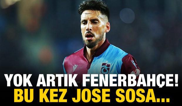 Yok artık Fenerbahçe! Bu kez Jose Sosa...