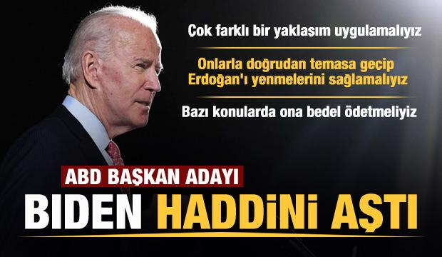 Joe Biden'dan skandal sözler! Türkiye ve Erdoğan'ı hedef aldı
