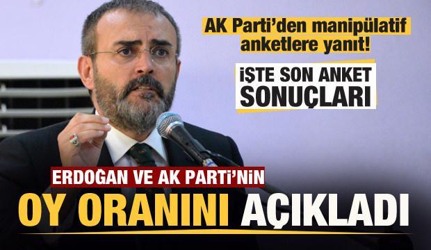 AK Parti'den manipülatif anketlere yanıt!