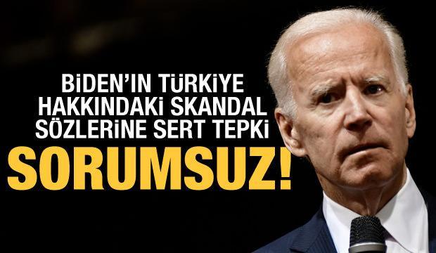 Altun'dan Biden'ın Türkiye açıklamasına sert tepki