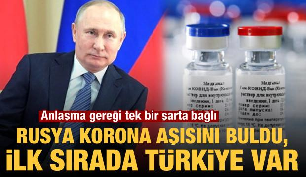 Rusya Kovid-19 aşısını buldu, ilk sırada Türkiye var! Anlaşma gereği tek bir şarta bağlı