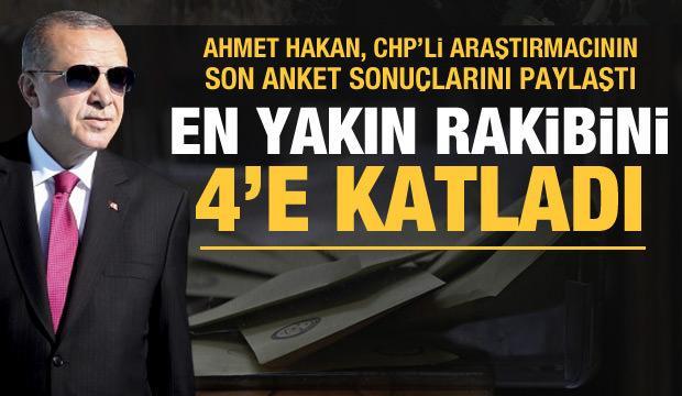 CHP'ye yakın isim Hakan Bayrakçı'nın anketinden çarpıcı sonuçlar