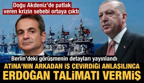 Doğu Akdeniz'de patlak veren krizin sebebi ortaya çıktı! Erdoğan duyar duymaz talimatı vermiş