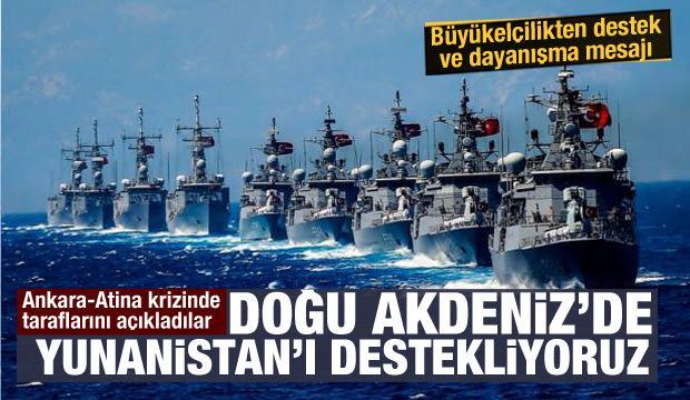 Doğu Akdeniz'de Türkiye-Yunanistan krizi! İsrail sessizliğini bozdu, ilk açıklama