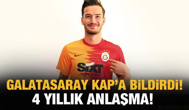 Galatasaray, Oğulcan Çağlayan'ı resmen duyurdu!